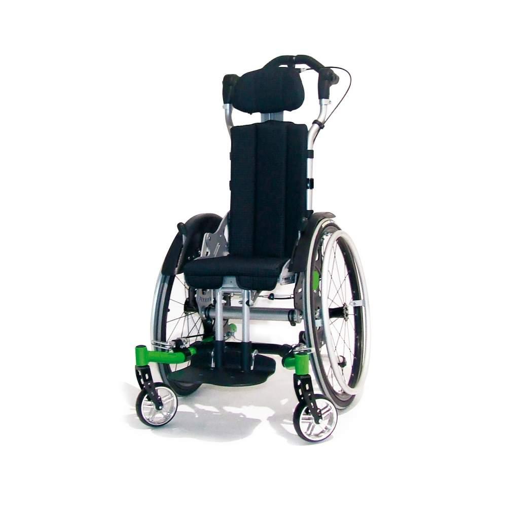 Swingbo VTI - Muchos niños con capacidad para autopropulsarse, precisan de sistemas de posicionamiento efectivo con basculación de asiento.