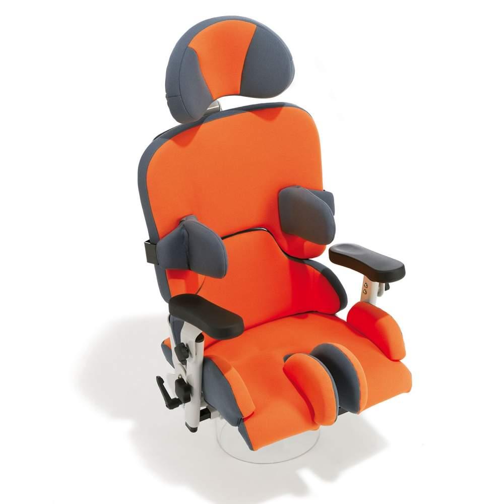 Sofie - El nuevo asiento Sofie, disponible en tres tallas, se equipara a Madita, utilizando los mismos accesorios, pero con la ventaja de poderlo montar en los chasis Freddy y Finn.