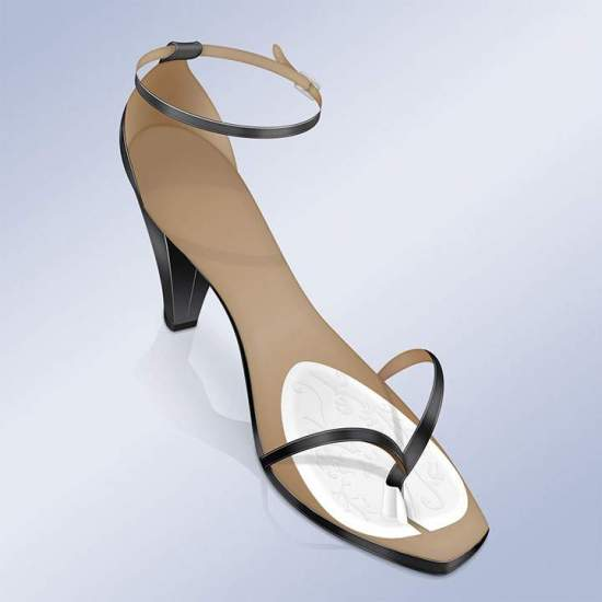 Almohadillas Adhesivas Para Sandalias Tipo Esclavas Orliman PS-20
