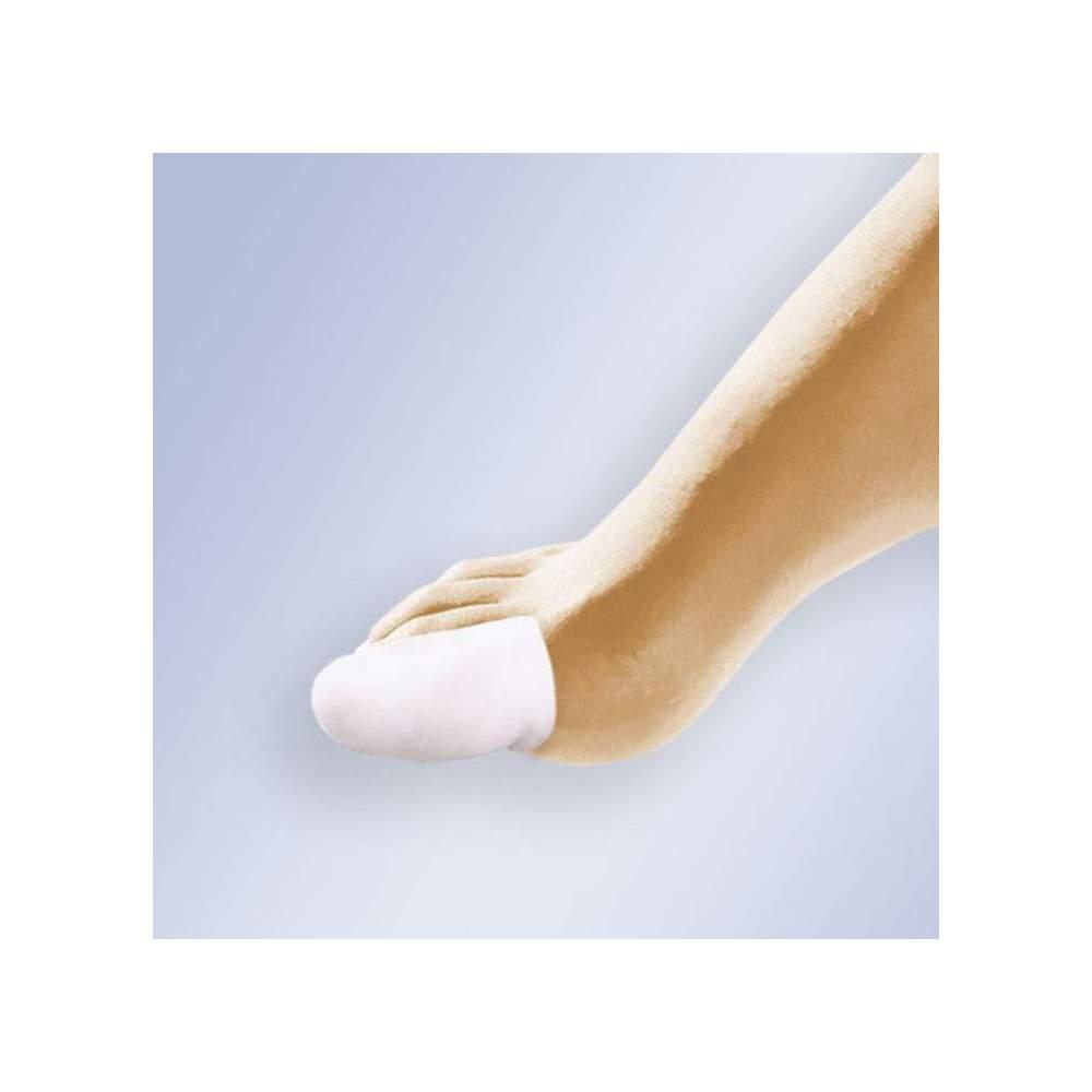 DEDIL EM GEL PURE GL-117 -  Tubular, cortado em forma de dedo, gel polímero viscoelástico, não tóxico, hipoalergênico, dermatologicamente testado e que não favorece o crescimento bacteriano.