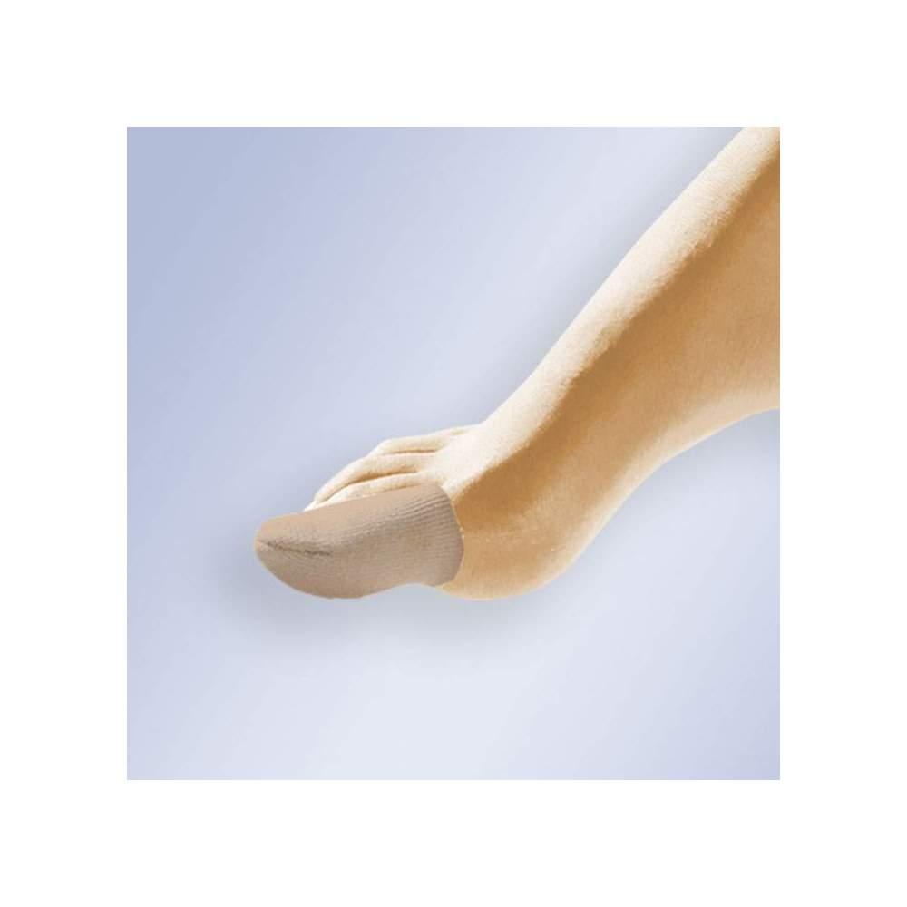 DEDIL EN GEL REVETU DE TISSU GL-105 -  Coupe tubulaire en forme de doigt et avec un intérieur en gel polymère viscoélastique non toxique, hypoallergénique, testé dermatologiquement, qui ne favorise pas la croissance...