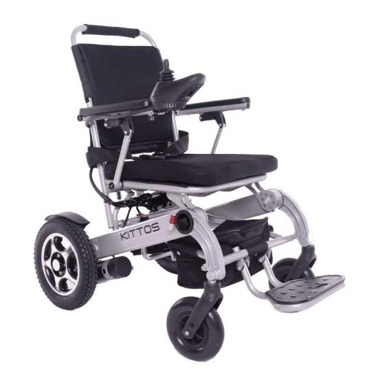 Wheelchair Kittos Little -  The aluminum folding wheelchair KITTOS Little aluminum is the best chair on the market: Folding, lightweight, fast, safe and robust. Thanks to its small size, and its innovative folding system, in 3 seconds, you can fold it and take it...