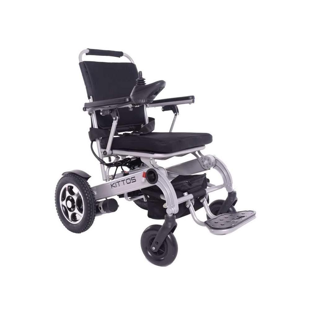 Silla de ruedas Kittos Little - La silla de ruedas eléctrica plegable KITTOS Little de aluminio es la mejor silla del mercado: Plegable, ligera, rápida, segura y robusta. Gracias a su reducido tamaño, y a su...