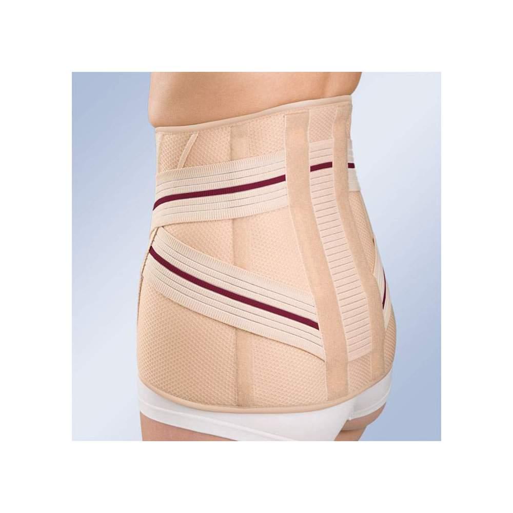 JAJA SACROLUMBAR ALTA 3TEX LUMBO 6212 -  Feito de tecido de três camadas (algodão-espuma-poliéster), semi-rígido e respirável, especialmente concebido para máxima respirabilidade. Sistema de fixação para adaptação...