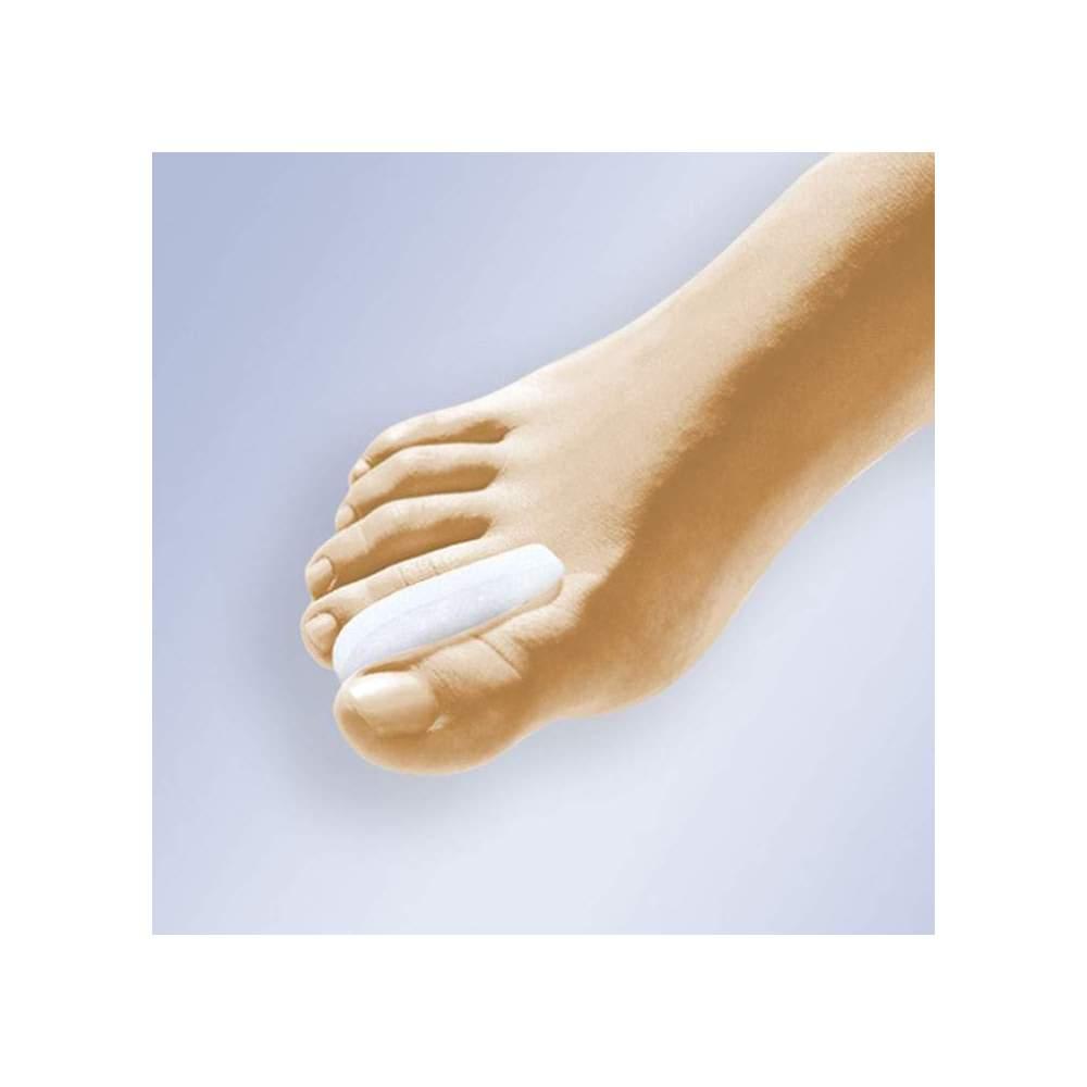 CRESCENT SEPARATEUR GEL - Séparateur en forme de croissant gel polymère viscoélastique fait non toxique, hypoallergénique, testés sous contrôle dermatologique et qui ne favorise pas la croissance...