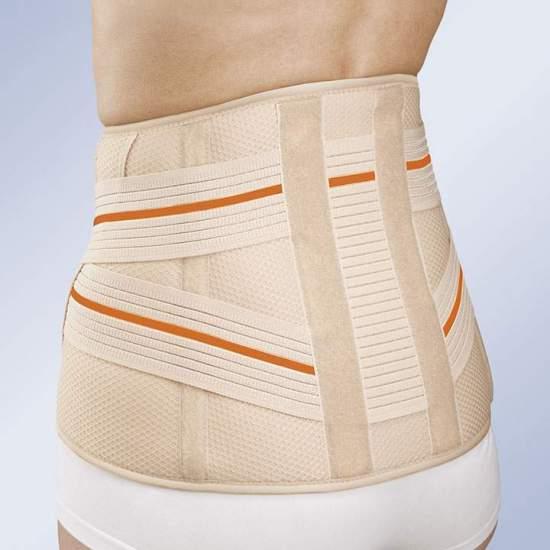 CEINTURE SACROLUMBAIRE COURTE 3TEX LUMBO 6211 -  En tissu à trois couches (coton - mousse - polyester), semi-rigide et respirant, spécialement conçu pour une respirabilité maximale. Système de fixation pour une adaptation facile et confortable, qui permet un ajustement personnalisé à...