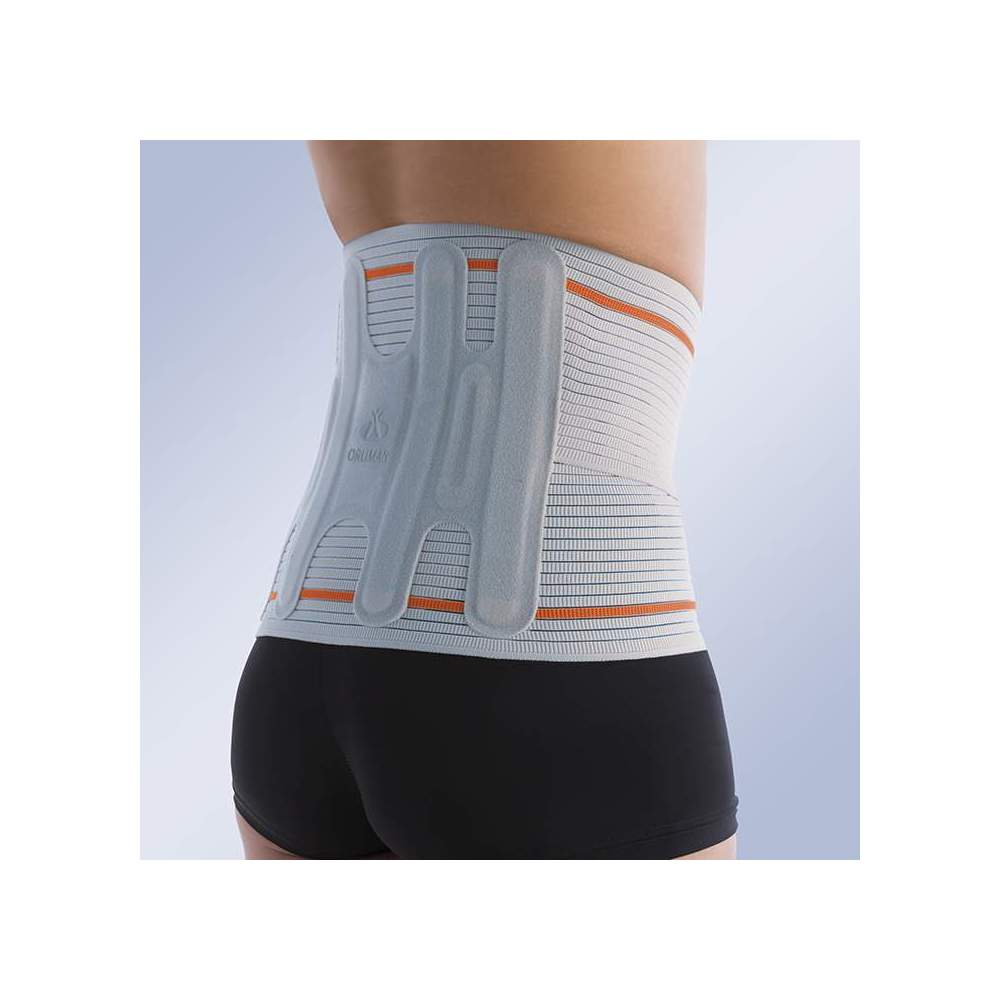 SEMIRRIGID BELT EVOTEC EV-101 -  Made with a very consistent elastic material that provides 50% more compression than conventionally used increasing lumbar support. Made with a technique of wireless seams,...
