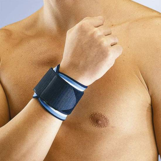 ADJUSTABLE NEOPRENE WRIST ORLIMAN - Made of neoprene wrist strap 3 mm with adjustable velcro closure.