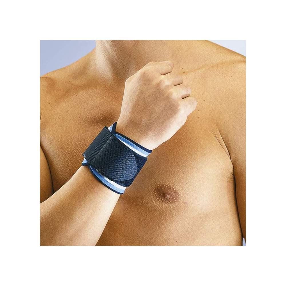 NEOPRENE AJUSTÁVEL Orliman PULSO - Feito de neoprene correia de pulso 3 mm com fecho de velcro ajustável.