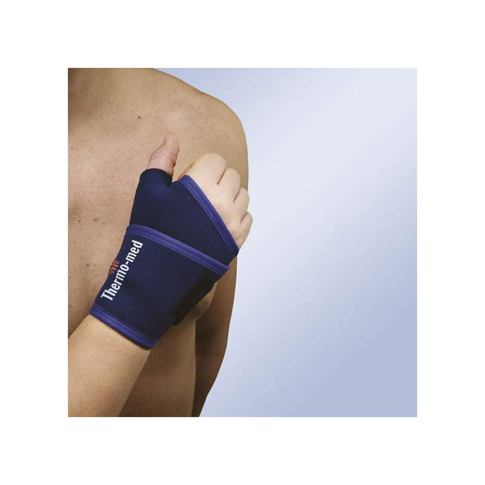 WRIST WRAPPING WITH PULGAR - Wrist bandage with thumb