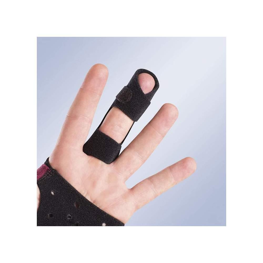 DEDOS DE DEDO ABERTOS PARA DEDOS GROSSOS FRD20 -  Tala de dedos abertos para luva imobilizadora M710. Eles são pedidos individualmente por tamanho.