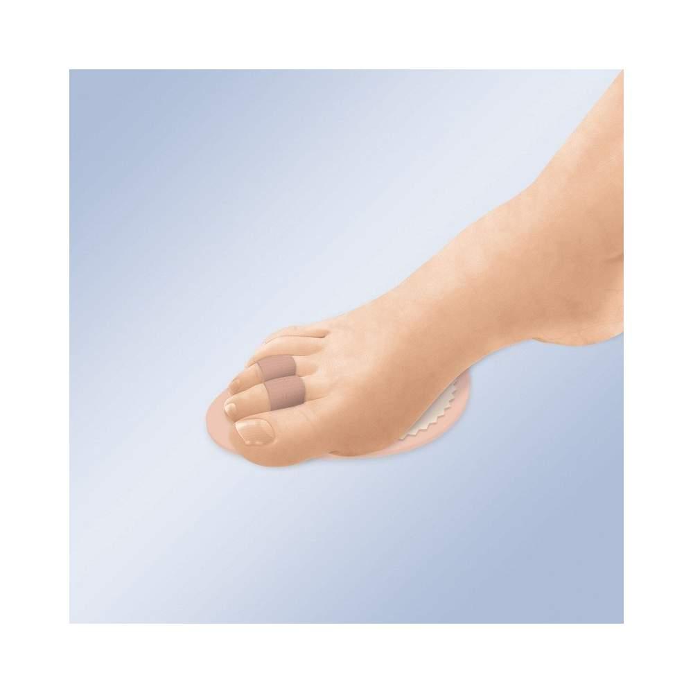 ALMOHADILLA PARA DEDOS EN MARTILLO GL-205 - La almohadilla de dedos es la solución perfecta para aliviar el dolor provocado por dedos con desviación axial, fracturados o en martillo