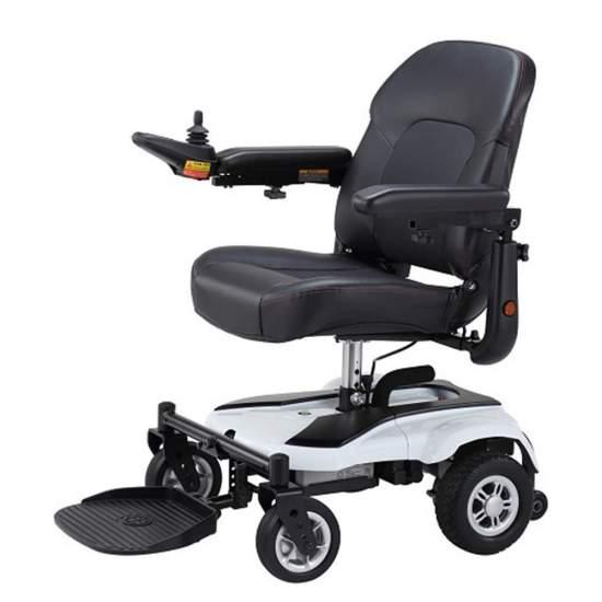 Silla de ruedas eléctrica R120 - Nuevo modelo - La silla eléctrica R120 representa la próxima generación de sillas eléctricas compactas y ligeras. Nuevo modelo Código Prestación 12212703
