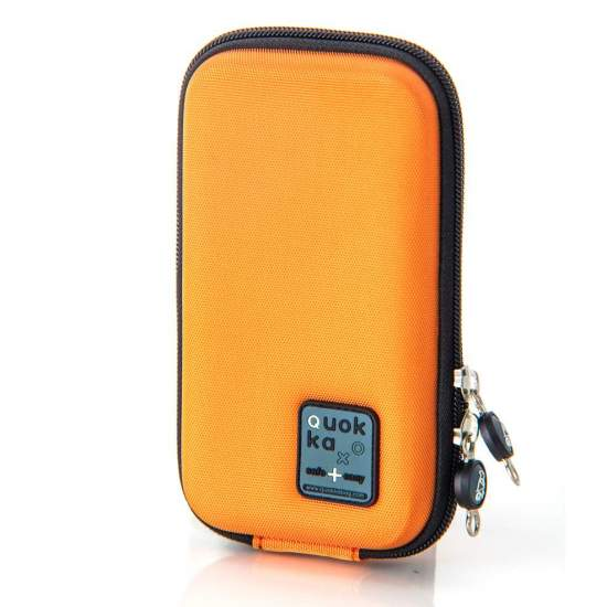 Mobile Case Orange SC-OR - Mobile Case in orange color for wallet or mobile.