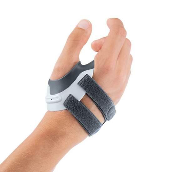 Órtese de articulação estabilizadora cmc- Manutec® fix rizart plus - Posicione e estabilize o polegar em uma posição adequada e permita a livre mobilidade dos outros dedos, garantindo a funcionalidade da mão e sua função de aderência.