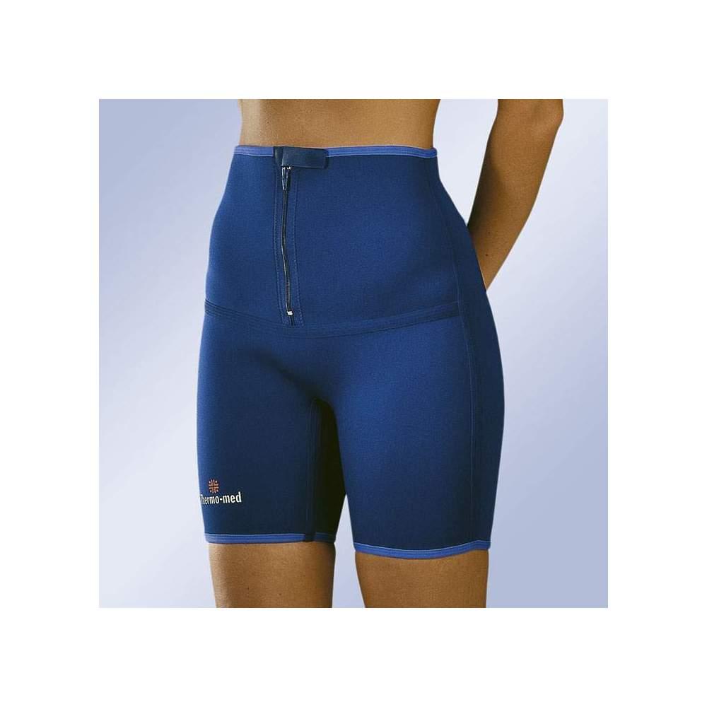PANTALON MOYEN EN NEOPRENE HAUTEUR 4700 -  Pantalon en néoprène de 2 mm idéal pour le sport. Fermeture éclair frontale pour une adaptation facile.