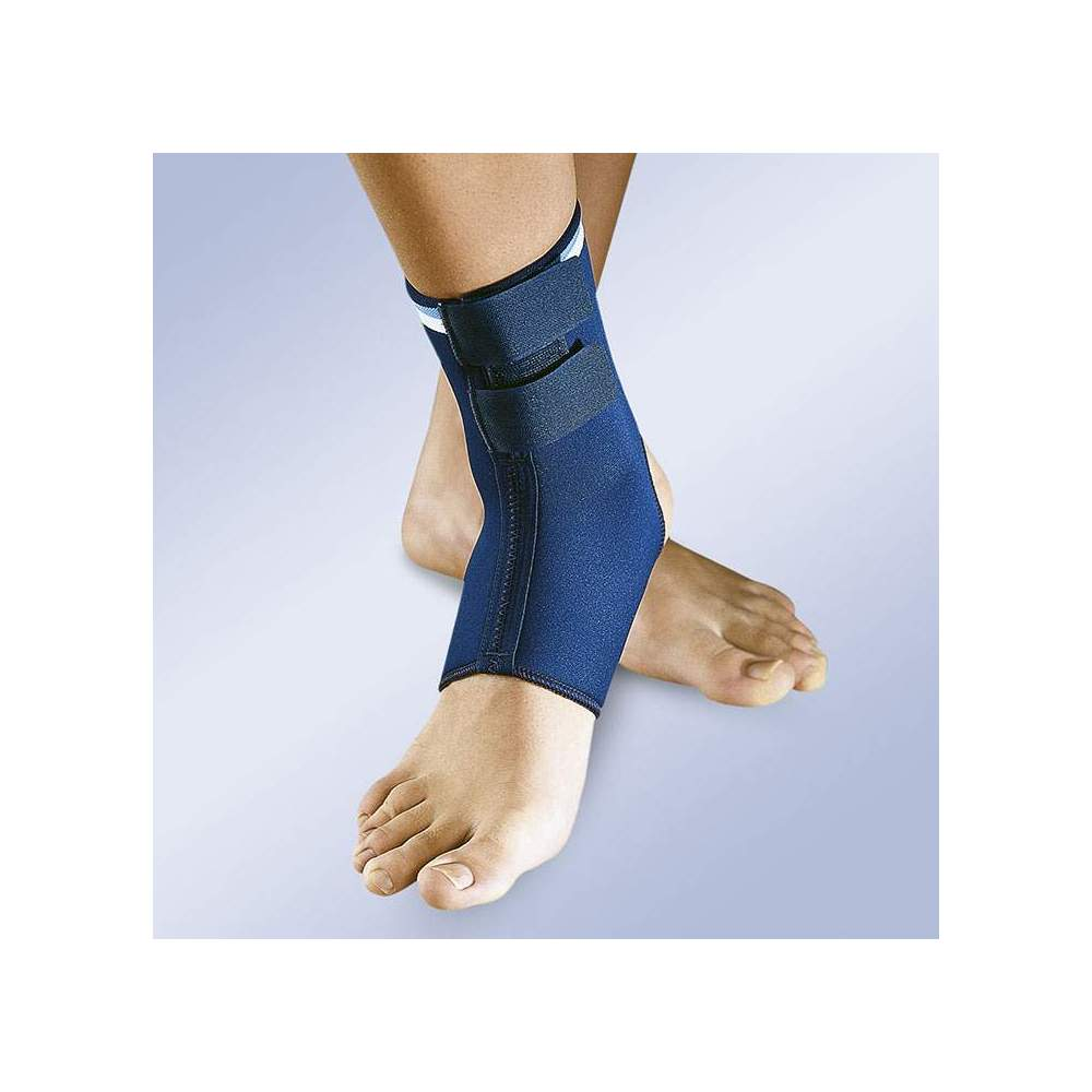 OPEN NEOPRENE ANKLE -  Open 3 mm neoprene ankle with velcro adjustment on the top.