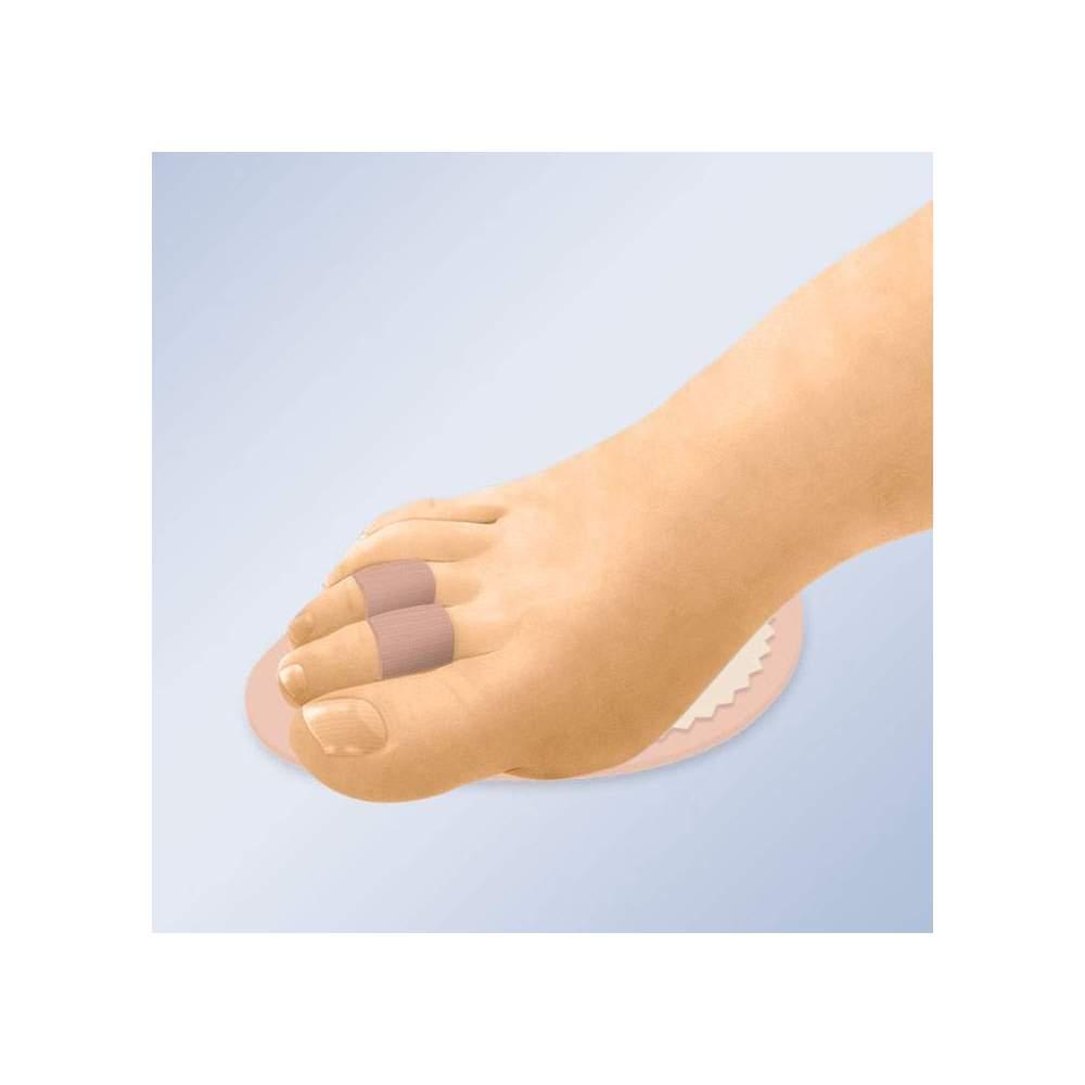 Almohadilla Para Dedos En Martillo Orliman GL-205 - La almohadilla de dedos es la solución perfecta para aliviar el dolor provocado por dedos con desviación axial, fracturados o en martillo. La alineación de los dedos se obtiene...