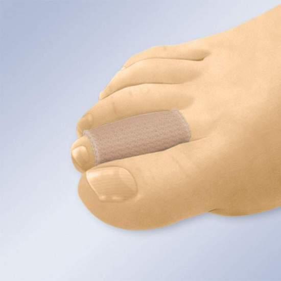 TUBOS ELÁSTICOS EM MALHA DE TECIDO REVESTIDOS EM GEL GL-118 -  O tubo é revestido internamente com gel de polímero hidratante, protegendo e amortecendo a área de contato. Isso ajuda a reduzir o tecido cicatricial. O tecido de malha flexível se estica facilmente, o que facilita sua colocação. O gel...