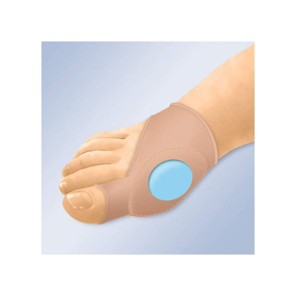 PROTECTOR OF JUANETES WITH GEL PIL GL-121 -  The 3 mm thick gel pad is easily placed on shoes or other footwear. Anatomical design The medical grade mineral oil gel soothes and soothes painful and sensitive bunions...