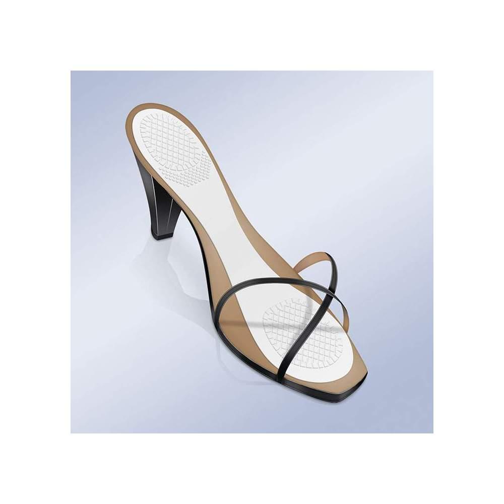 GABARITS D'ADHÉSIF 3/4 EN GEL AVEC ZONE DE DÉCHARGE À TALON ET ANTEPY PS-22 -  Des inserts adhésifs avec gel antidérapant et invisible aux 3/4 absorbent la pression et procurent un confort aux pieds lorsque vous portez vos chaussures préférées (talons ou...
