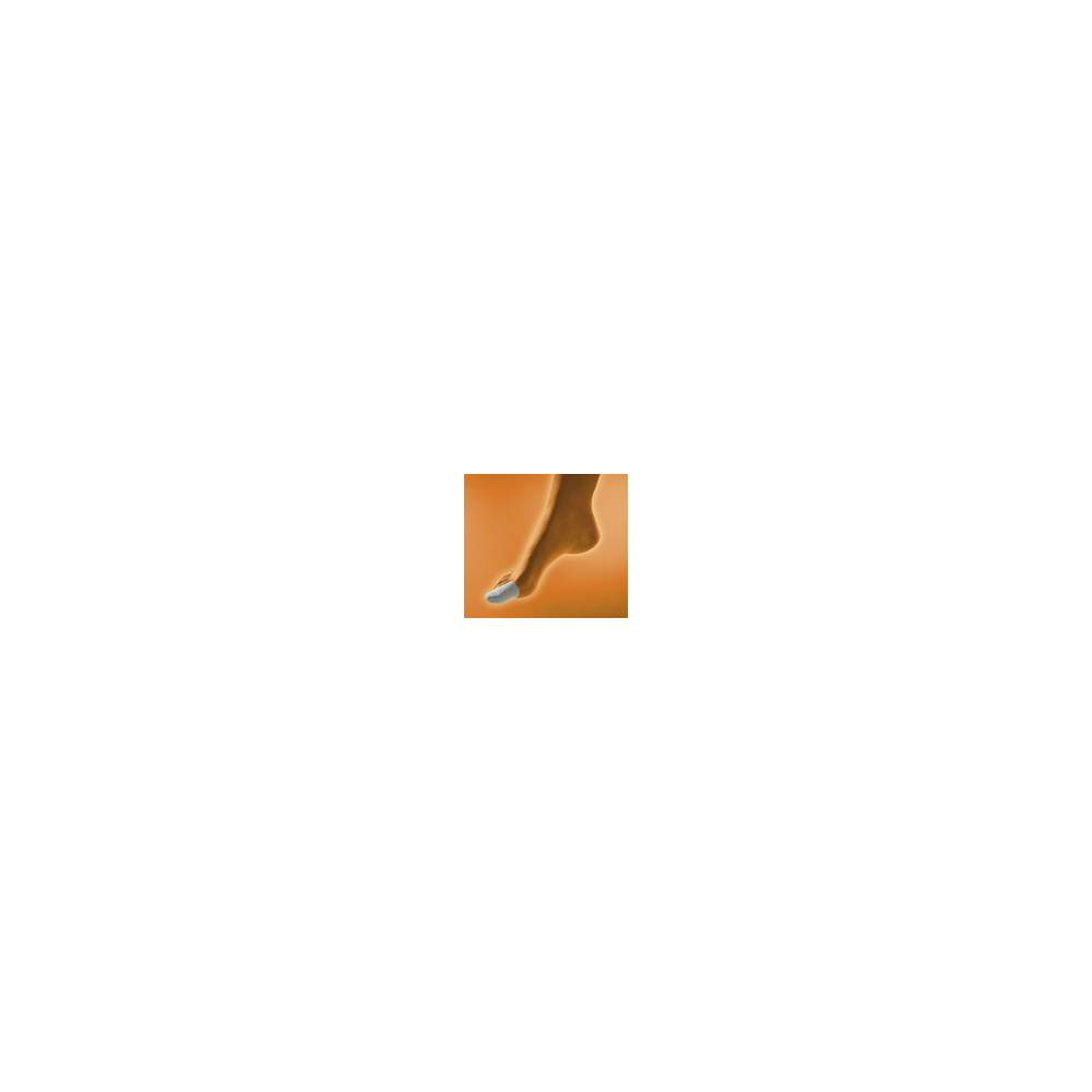 Dedil GEL tissu enduit GL-105 - Coupe en forme de doigt tubulaire en coton et gel polymère viscoélastique à l'intérieur non toxique, hypoallergénique, testés sous contrôle dermatologique et qui ne favorise pas...