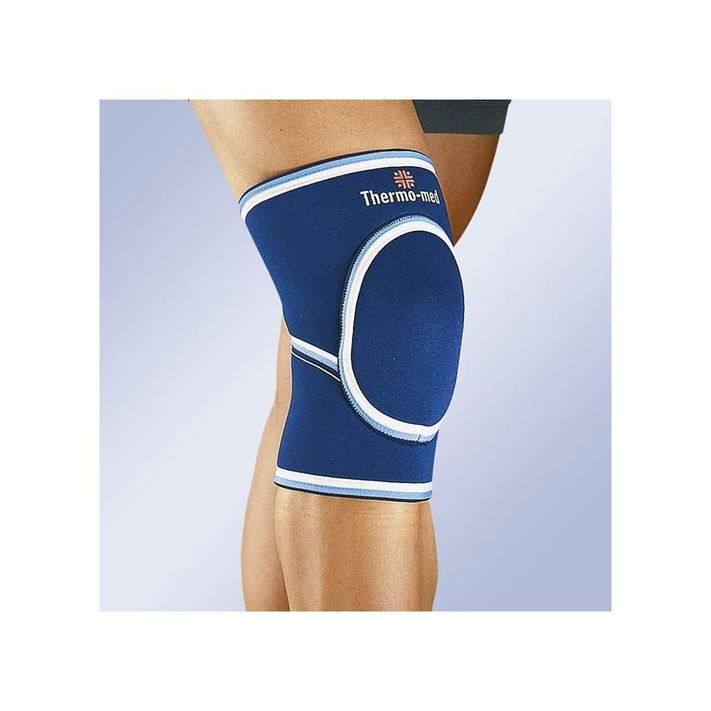 NEOPRENE KNEE PADLOCK 4106 -  Padded neoprene knee pad in 4.5 mm.