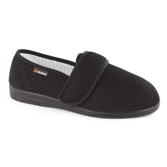 Chaussures thérapeutiques - Rhuys Orliman OF1600 - Chaussure très confortable avec système de fermeture réglable pour une adaptation parfaite à la taille du pied. Pas de coutures à l'avant-pied, idéal pour les pieds diabétiques.