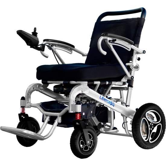 Silla de ruedas Aura de Libercar 10 / 20 - Silla de ruedas electrica y ligera Aura de Libercar con plegado automático por mando a distancia