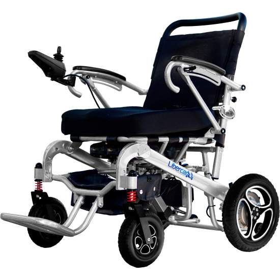 Wheelchair Aura de Libercar 10/20 - Electric and light wheelchair Aura de Libercar with automatic folding by remote control