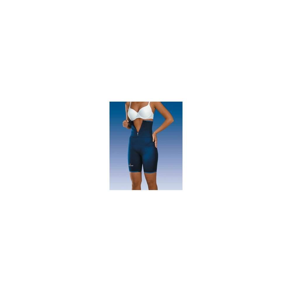 PANTALON DE NEOPRENO SAUNA 4701 - Pantalón confeccionado en neopreno de dos milímetros ideal para la práctica deportiva al tener un forro interior en suave toalla de algodón que absorbe el sudor.