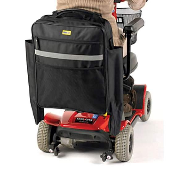 Bolsa para silla de ruedas o scooter - Esta resistente bolsa es ideal para cualquier silla y la mayoría de scooteres, con o sin reposacabezas.