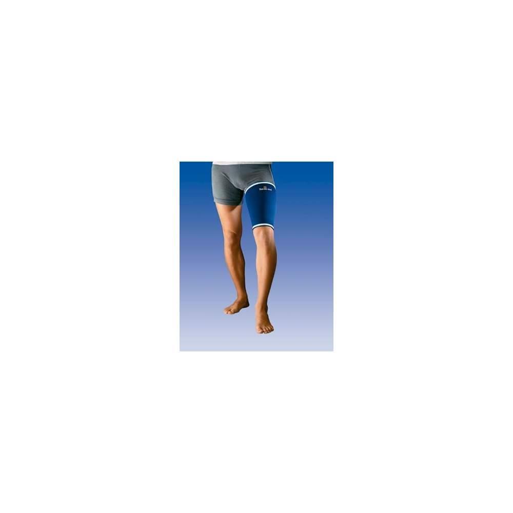 NEOPRENE CUISSE 4500 - Muslera néoprène de 3mm avec couche extérieure en nylon et polyester intérieur hypoallergénique serviette douce absorbe la sueur et viveados distales élastiques.