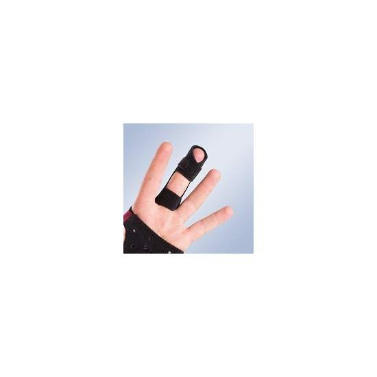 OPEN FINGERS FINGER SPLINT THICK FRD20 - Glove finger splint immobilizer open for M710. Be ordered individually by size.