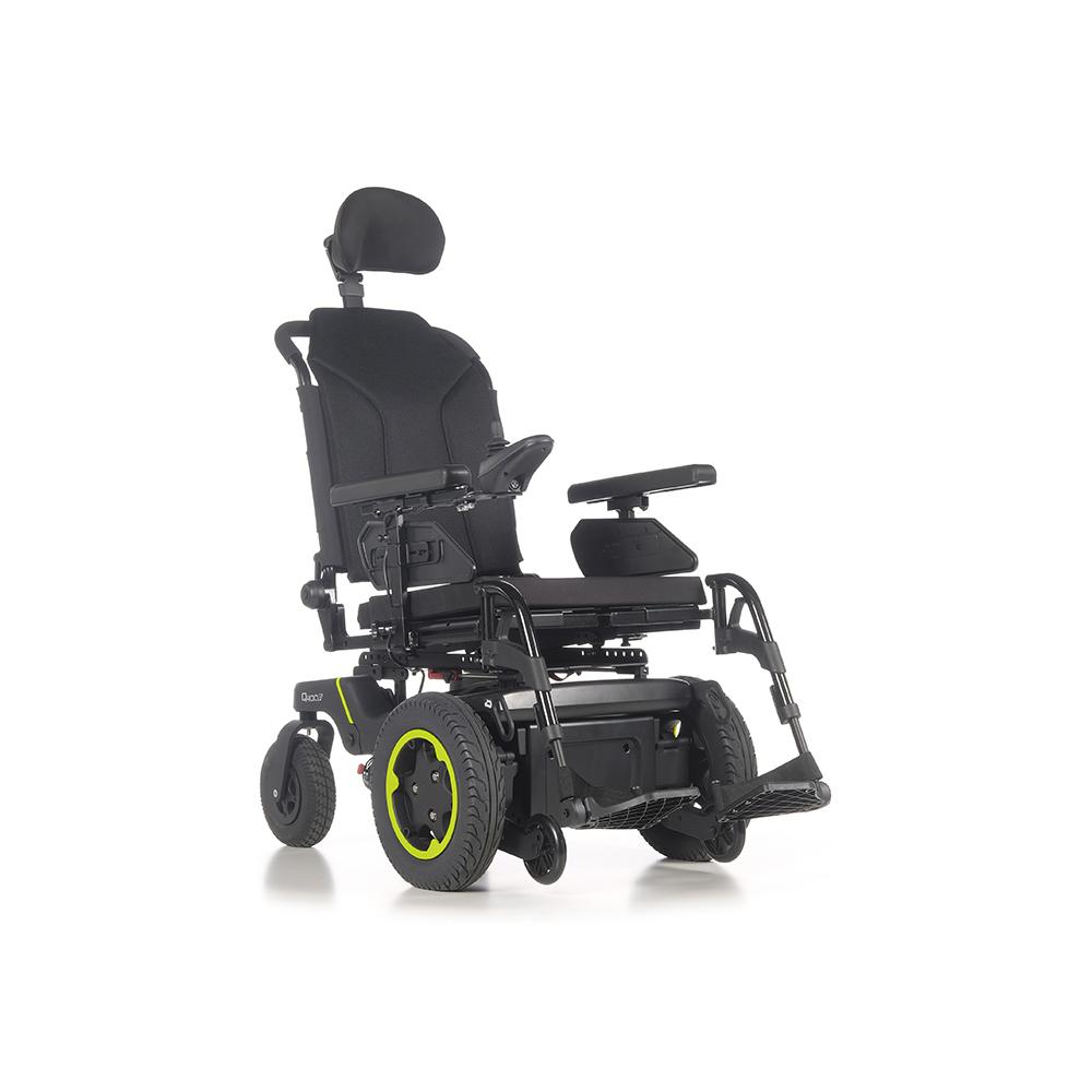 Silla de ruedas Q400 F Sedeo Lite Sunrise Medical - Silla de ruedas eléctrica con tracción delantera. Rendimiento superior en interiores y exteriores