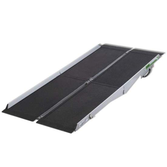 Ramp type suitcase Multiplegado R2P180 - 180 cm metal ramp for wheelchairs and scooters