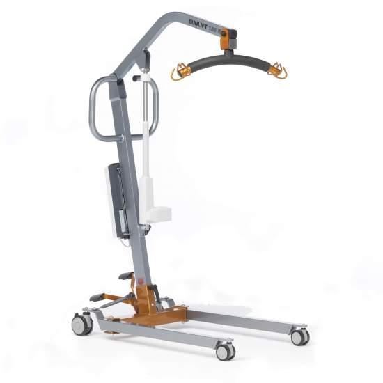Mini grue électrique Sunlift (130 kg) -  Idéal pour un usage domestique. Sunlift Mini est facile à gérer et dispose de la capacité de levage nécessaire pour couvrir les besoins pouvant survenir dans les soins domestiques.