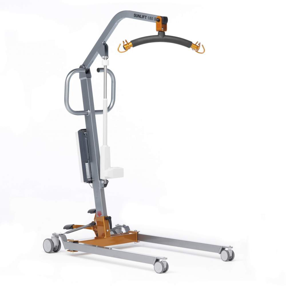 Crane Sunlift Midi Electric (150 Kg.) -  The best ally of the caregiver. Sunlift Midi is an electric patient transfer and lifting crane, with capacity for users up to 150 Kg.