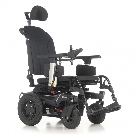 Electric wheelchair Q400 R SEDEO LITE - The QUICKIE Q400® R electric rear wheelchair offers excellent maneuverability outdoors and incredible performance indoors.