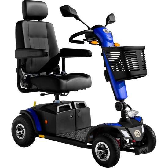 Scooter electrónico Libercar Modelo Dolce Vita - Con el scooter Libercar Dolce Vita disfrutará de sus actividades favoritas tanto en espacios interiores como al aire libre. Su potente motor de 400W y su autonomía (38km) le proporcionarán total libertad e independencia. Es desmontable...