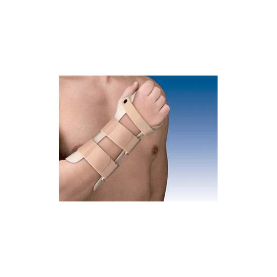 SPLINT WRIST FASTENING IN THERMOPLASTIC TP-6100