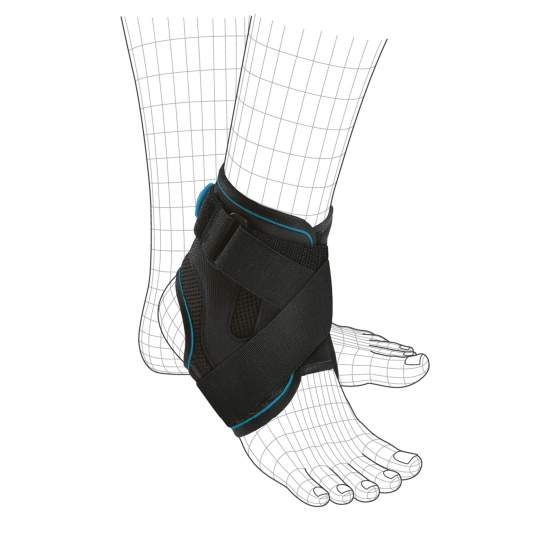 Orliman BCS900 stabilizing ankle - Orliman stabilizing ankle BCS900 Fixquick BOA® made of breathable semi-rigid fabric, with Boa® closure system, which provides an adjustable adjustment in a quick and easy way. The gradual adjustment provides adequate protection and...