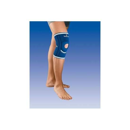 Rotule ouverte du genou en néoprène avec stabilisateurs latéraux 4102