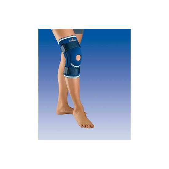 NEOPRENE KNEE WITH BALL OPEN SIDE STABILIZERS AND RESTRAINT STRAPS 4103
