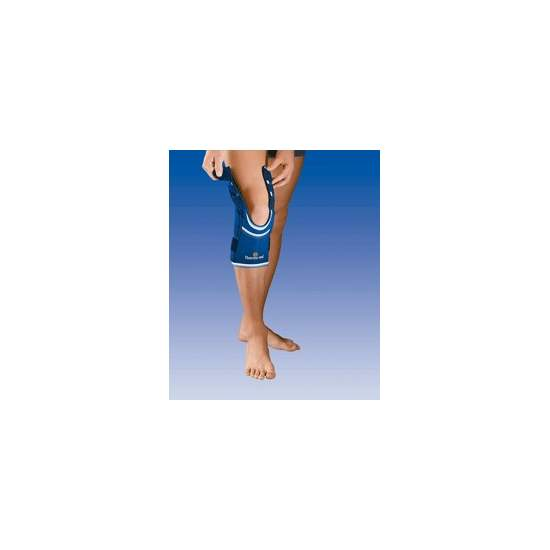 OPENINGS NEOPRENE KNEE THIGH AND STABILIZING CALF ADJUSTMENT STRAPS SIDE AND 4103-A