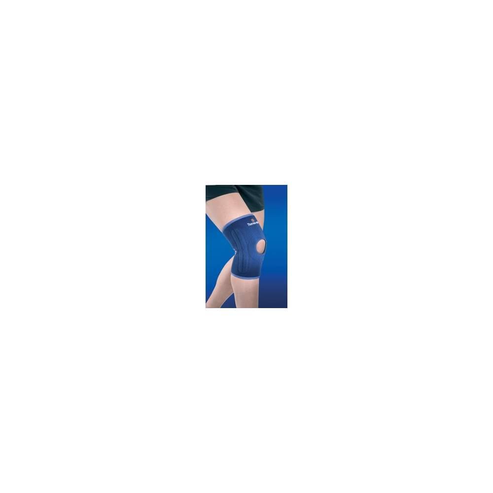 NEOPRENE KNEE OPEN ONE SIZE BALL 4119 - Knee astrakhan neoprene open patella 2 mm size fits all.
