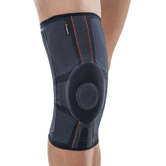 Elastic knee brace with...