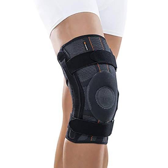 Functional elastic knee brace with Orliman TGO487 Therago artioculations