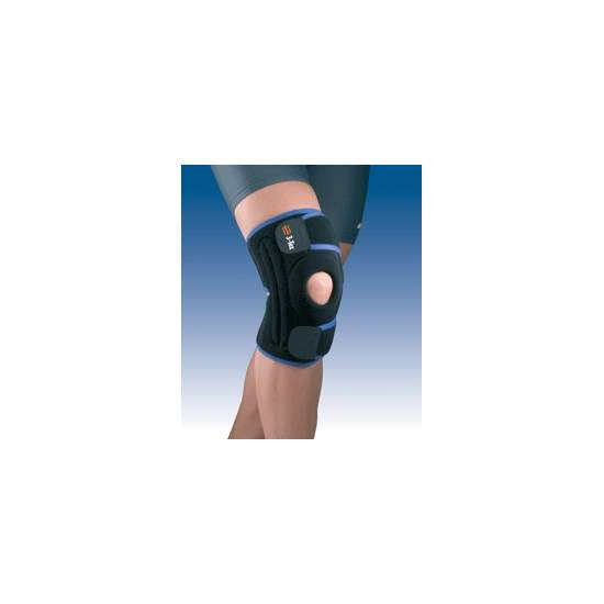KNEE WRAP WITH MIDDLE-SIDE STRIP 7119