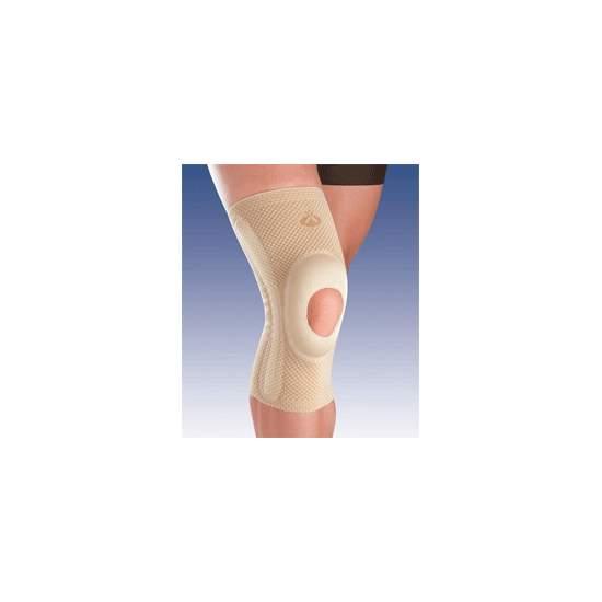 BREATHABLE apoio do joelho elástico com SILICONE CABEÇA impulsor aberto e estabilizadores SECUNDÁRIOS 8105